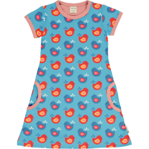 Maoxmorra Dress SS Bright Birds