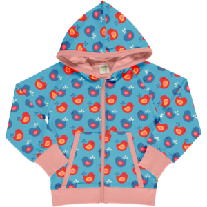 Maxomorra Cardigan Bright Birds