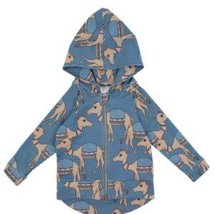 Dear Sophie Camel Blue Hoodie