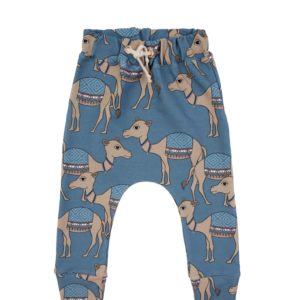 Dear Sophie Camel Blue Pants