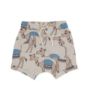 Dear Sophie Camel Sand Shorts