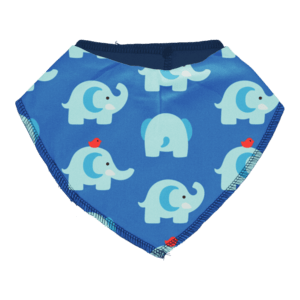 Maxomorra Elephant Friends Bib