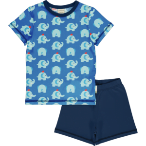 Maxomorra Elephant Friends Pyjama SS