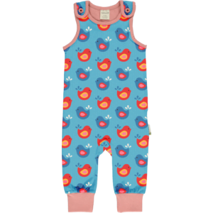 Maxomorra Playsuit Bright Birds