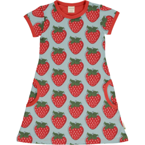 Maxomorra Strawberry Dress SS