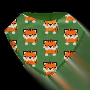 Maxomorra Tangerine Tiger Bib