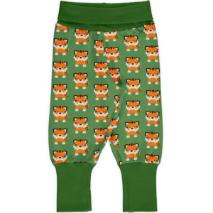 Maxomorra Tangerine Tiger Pants