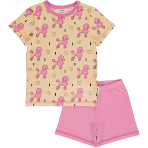 Meyadey Pyjama Ss Perky Poodle