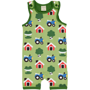 Maxomorra Forest Farm Playsuit SS