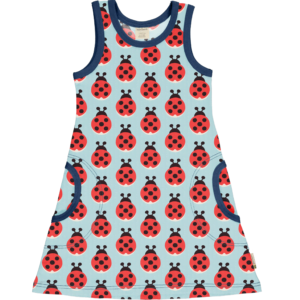 Maxomorra Lazy Ladybug Dress NS