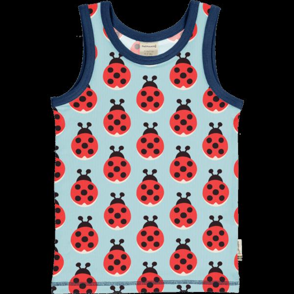 Maxomorra Lazy Ladybug Tanktop