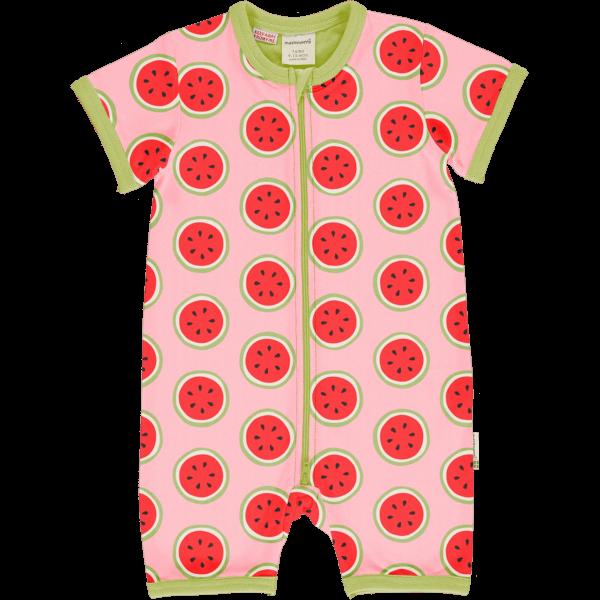 Maxomorra Watermelon Rompersuit SS