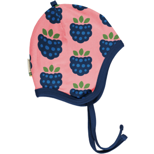 Maxomorra Hat Helmet Velours Blackberry