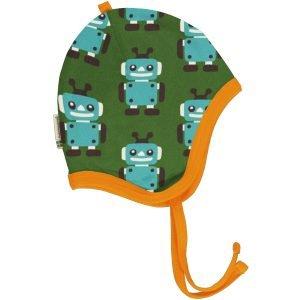 Maxomorra Hat Helmet Velour ROBOT
