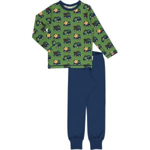 Maxomorra Pyjama Set LS CONSTRUCTION