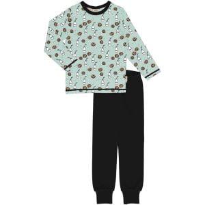 Maxomorra Pyjama Set LS MILK & COOKIES
