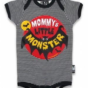 Six Bunnies Mommy's Little monster Romper Peetjes Favorieten