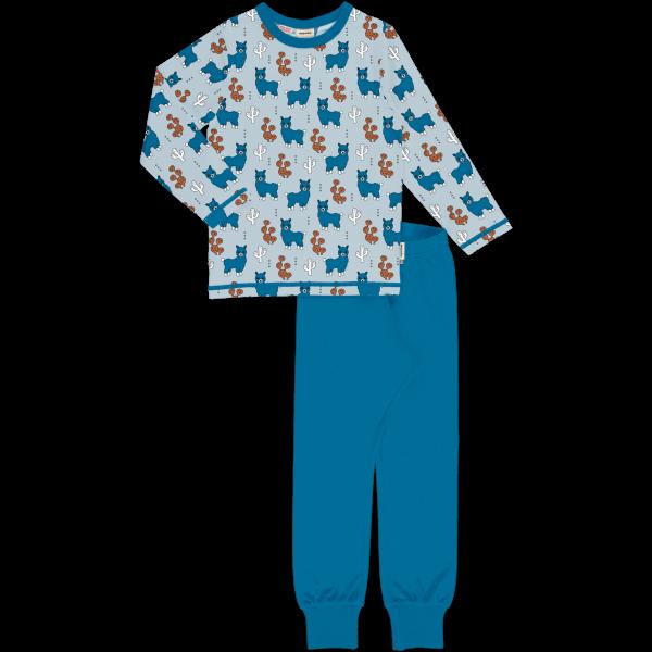 Meyadey Pyjama Set LS Alpaca Friends