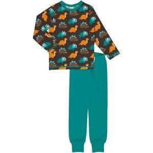 Maxomorra Pyjama Set LS DINOSAURS