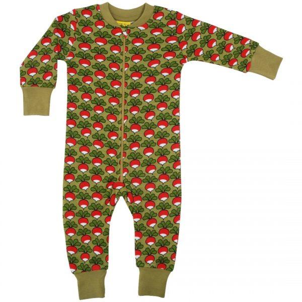 Duns Sweden Zip Suit Radish SAGE