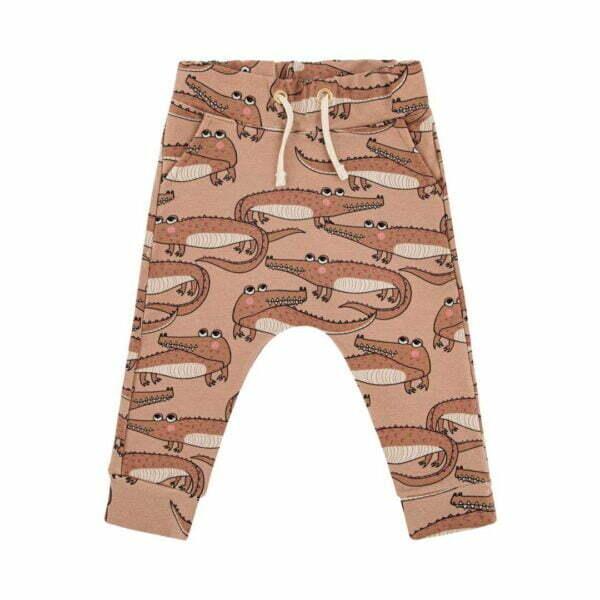 Dear Sophie Crocodile Brown Pants
