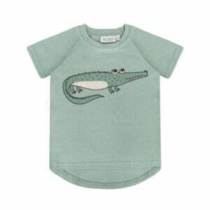 Dear Sophie Crocodile T-shirt Mint