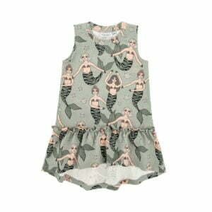 Dear Sophie Mermaid Mint Dress