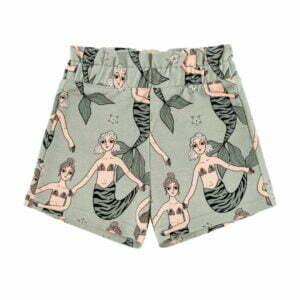Dear Sophie Mermaid Mint Paperbag Shorts