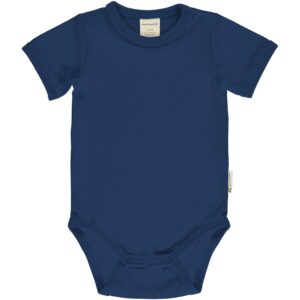 Maxomorra Body SS Solid SOLID NAVY