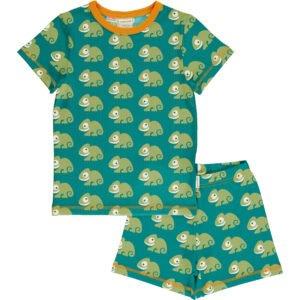 Maxomorra Pyjama Set SS CHAMELEON