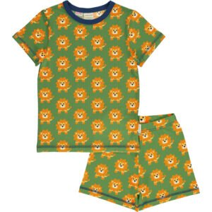 Maxomorra Pyjama Set SS LION