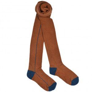 BABA Kidswear Tights Maillot Brown Suger Stripe