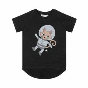 Dear Sophie Astrocat T-shirt Dark