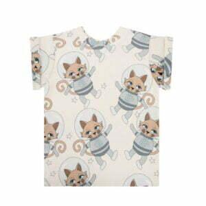 Dear Sophie Astrocat T-shirt Light