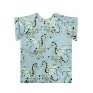 Dear Sophie Dragon T-shirt Blue