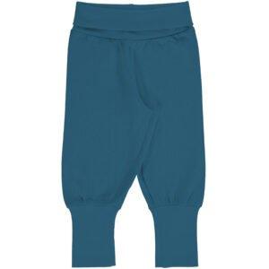 Meyadey Pants Rib Solid DEEP WATER