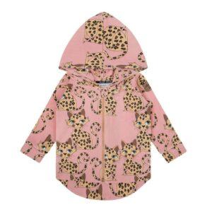 Dear Sophie Gepard Pink Hoodie